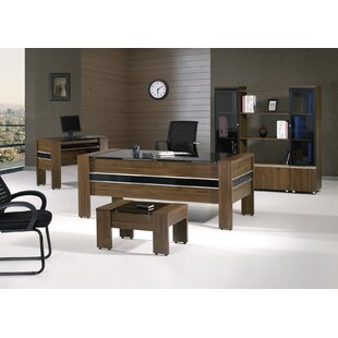 Corrigan Studio Moriah Modern 5 Piece Desk Office Suite
