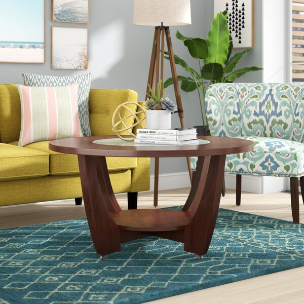 Brayden Studio Thurmont Wheel Coffee Table With Storage Reviews Wayfair