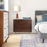 Genevieve 3 Drawer Nightstand by Foundstone™