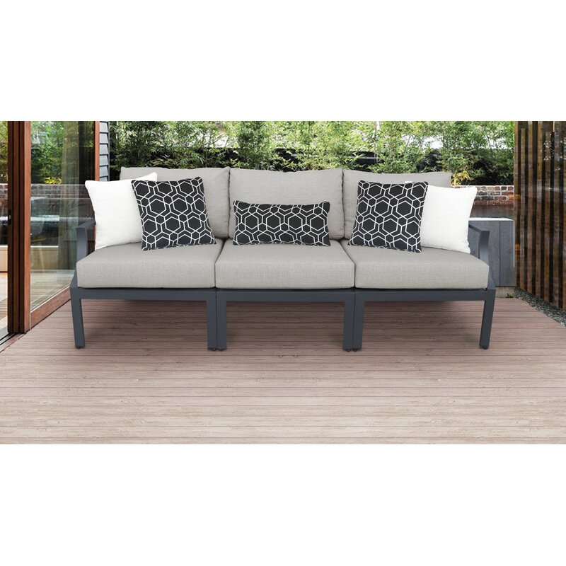 Ivy Bronx Benner Outdoor 3 Piece Sofa Seating Group With Cushions Wayfair