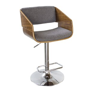 Vanzandt Adjustable Height Swivel Bar Stool