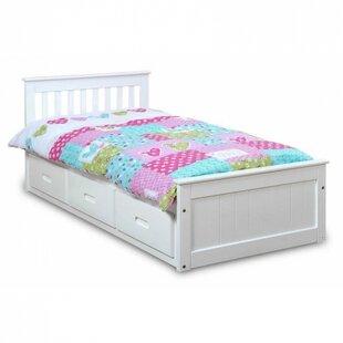 CloudSeller Mission Cabin Twin Storage Platform Bed