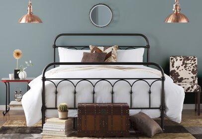 Industrial Bedroom Design & Bedroom Industrial Design Ideas | Wayfair