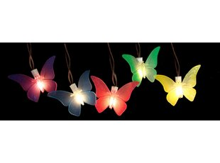 10-Light Butterfly String Lights (Set of 10)