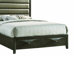 New Canaan Wooden Upholstered Storage Standard Bed