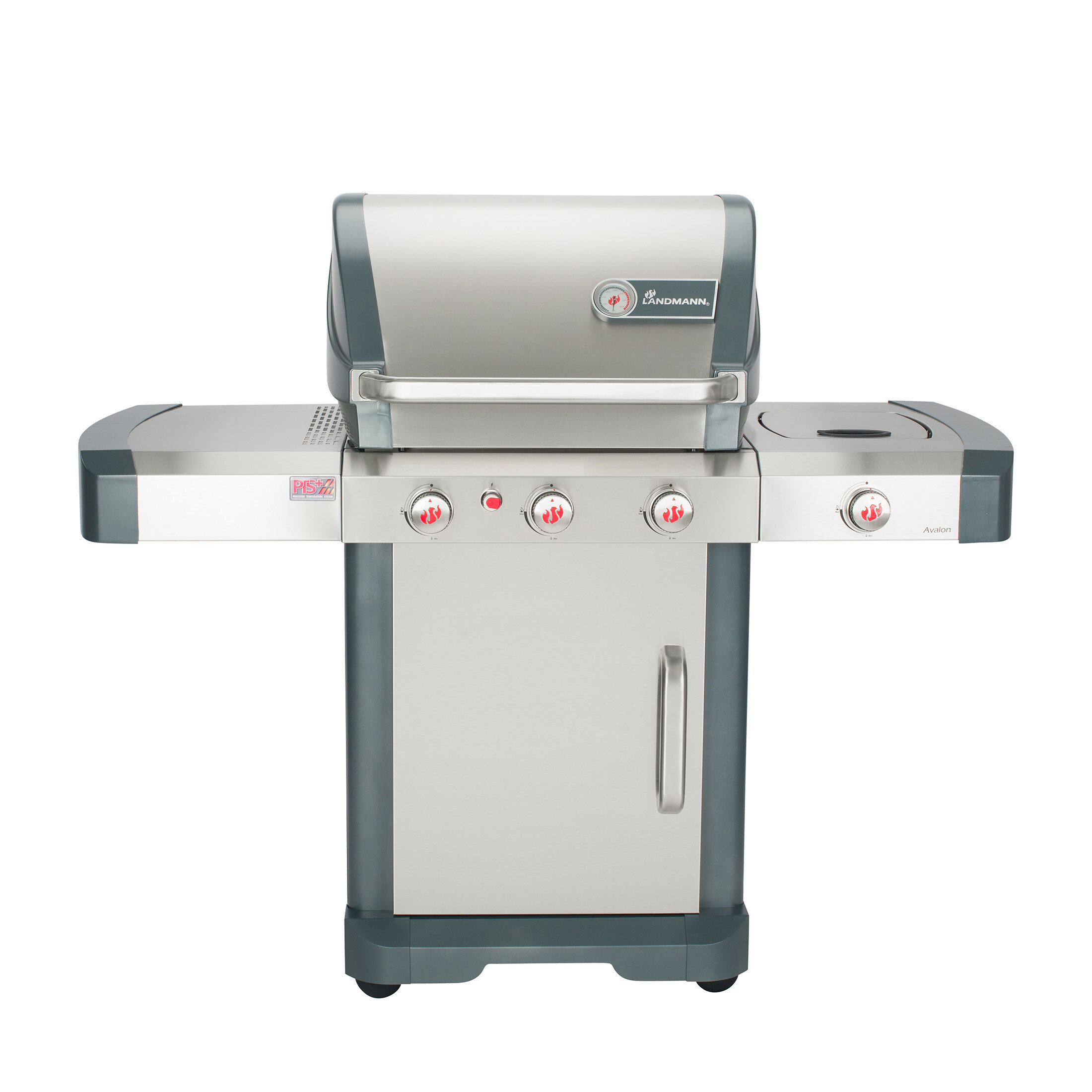 Avalon 5-Burner Convertible Gas Grill with Side Burner