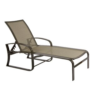 Woodard Cayman Isle Flex Reclining Chaise Lounge