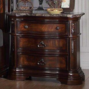 Where buy  Fletcher 3 Drawer Nightstand by Astoria Grand