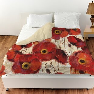 Bold Poppies Duvet Cover
