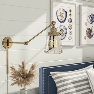 Brinley Swing Arm Lamp by Breakwater Bay