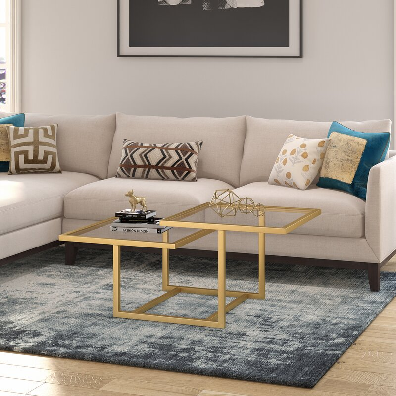 Everly Quinn Chattahoochee Two-Tier Coffee Table & Reviews