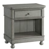 Hallinan 1 Drawer Nightstand by Bungalow Rose
