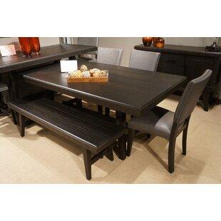 Red Barrel Studio Emrys Wooden Dining Table
