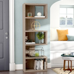 Geometric Bookcase By Rebrilliant