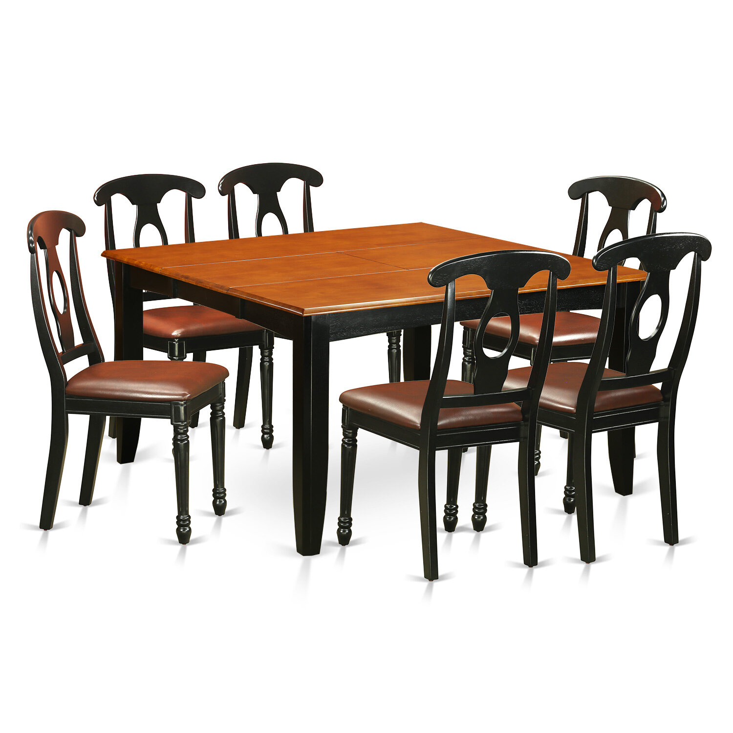 Pilning Contemporary 7 Piece Dining Set