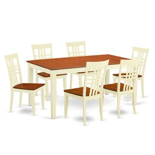 East West Furniture 7 Piec..