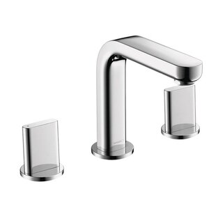 Inexpensive Metris Widespread Bathroom Faucet with Drain Assembly By Hansgrohe