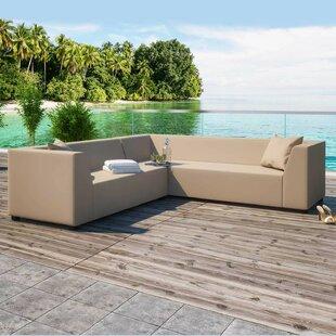 Aaden Garden Corner Sofa By Wade Logan