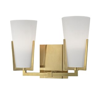 Brayden Studio Levine 2-Light Vanity Light