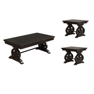 Affordable Alcala 3 Piece Coffee Table Set By One Allium Way