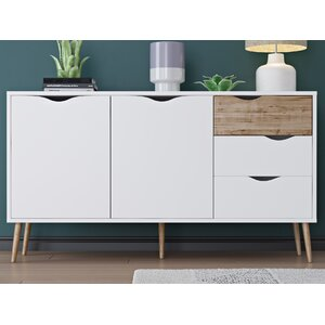 Zephyr 5 Drawer Sideboard