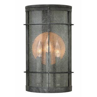 Mccluney 3-Light Outdoor Flush Mount