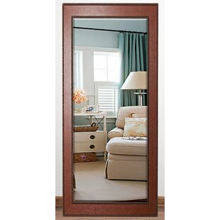Charlton Home Priebe Rectangle Rope Beveled Wall Mirror