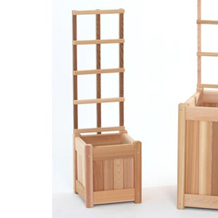 All Things Cedar 2 Piece Wood Trellis Set