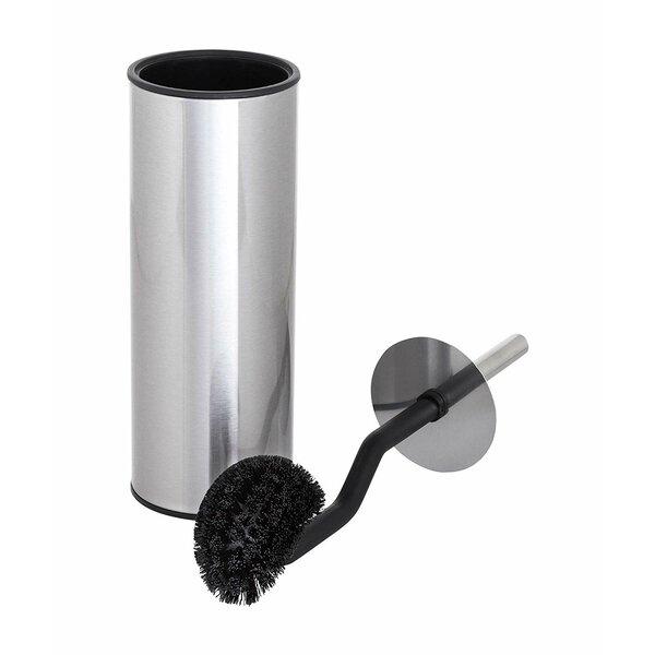 Toilet Tree Products Angled Bathroom Scrubber 15in H Free Standing Toilet Brush And Holder Reviews Wayfair