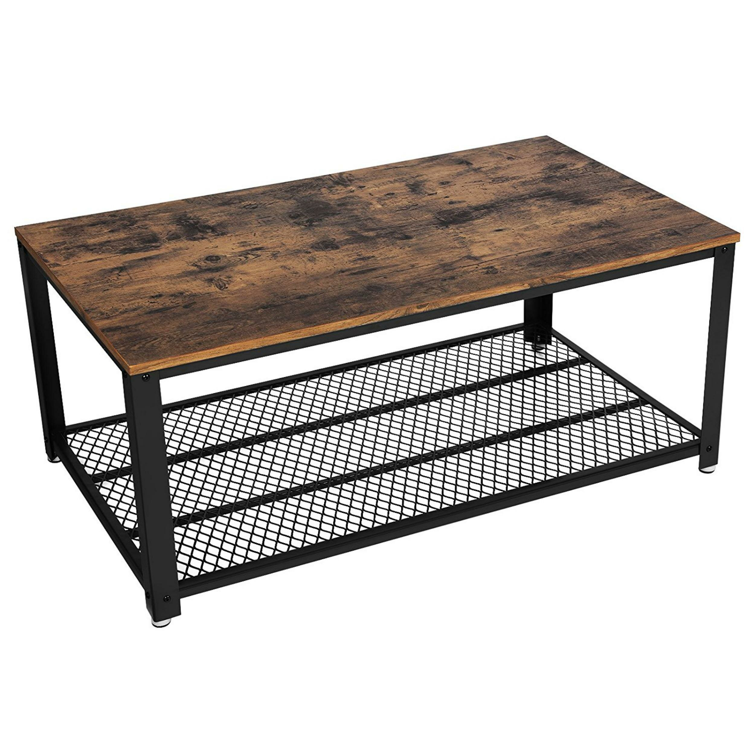 Williston Forge Landis Metal Frame Coffee Table With Tray