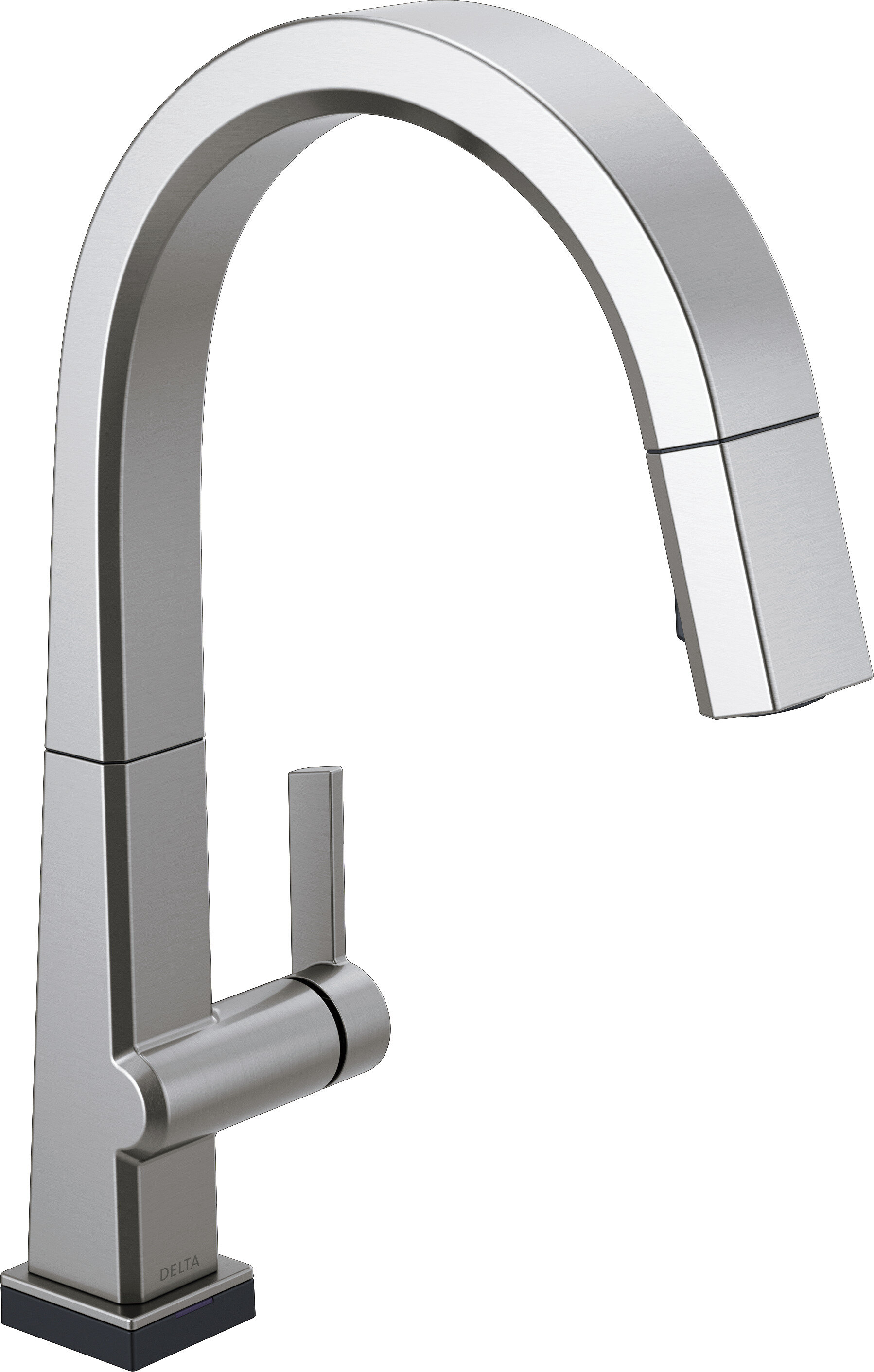 Delta Pivotal Pull Down Touch Single Handle Kitchen Faucet With