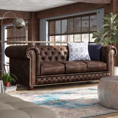 Chesterfield Leather Sofas You Ll Love In 2020 Wayfair
