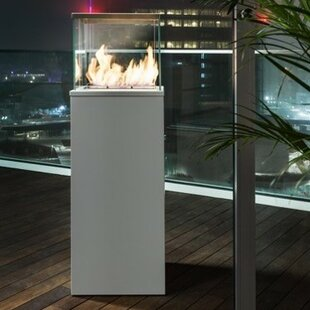 Bio-Blaze Ventless Steel Bio-Ethanol Fuel Fire Column