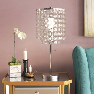 Best Deals Northwood Crystal Inspired 19 Table Lamp By House of Hampton
