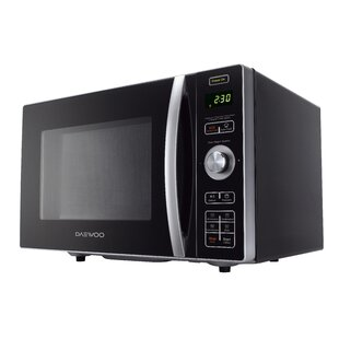 Daewoo 19.7 0.9 Cu. ft. Countertop Microwave with Air fryer capability