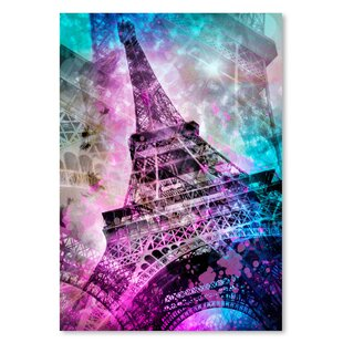 251a461a1b Paris Eiffel Tower Wall Art | Wayfair