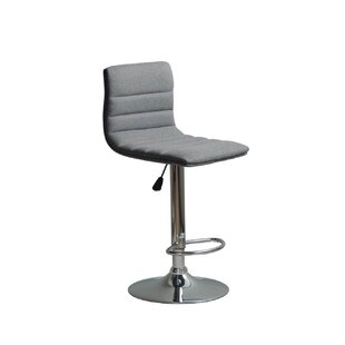 Ebern Designs Ricardo Adjustable Height Swivel Bar Stool