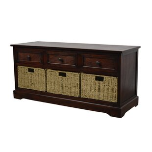 Ardina Wood Storage Bench by B..