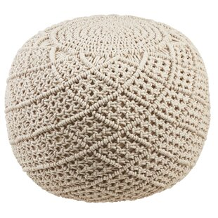 Mcdonell Pouf by Bungalow Rose