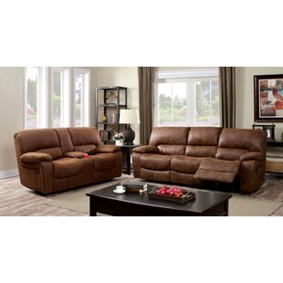 Hokku Designs Bethune Reclining Configurable Living Room Set