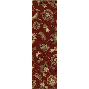 Landyn Rouge London Red Area Rug ByThe Conestoga Trading Co.