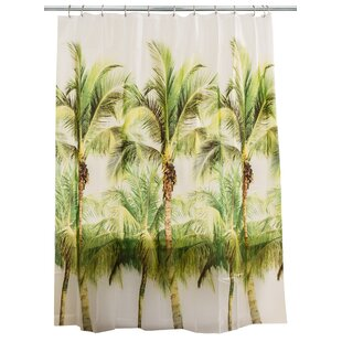 Palm Tree Peva Shower Curtain