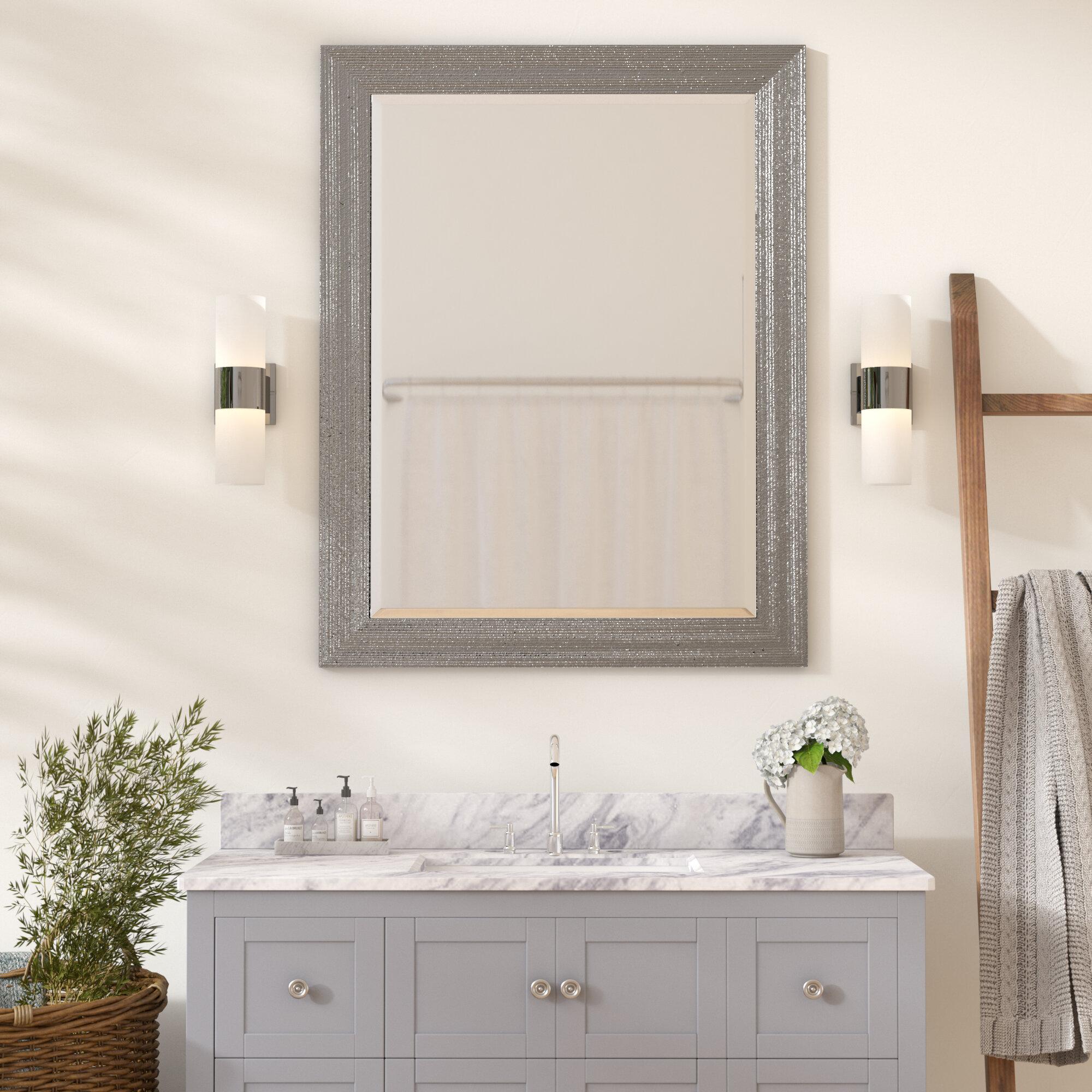 Steinberger Beveled Edge Bathroom Vanity Wall Mirror