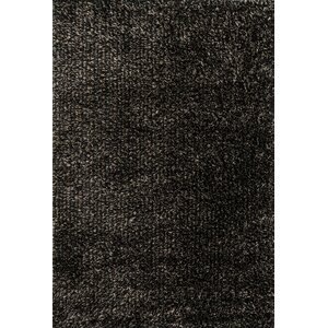 Carrera Shag Hand-Tufted Charcoal Area Rug