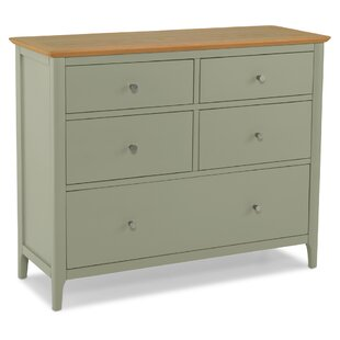 Kaius 5 Drawer Chest By August Grove