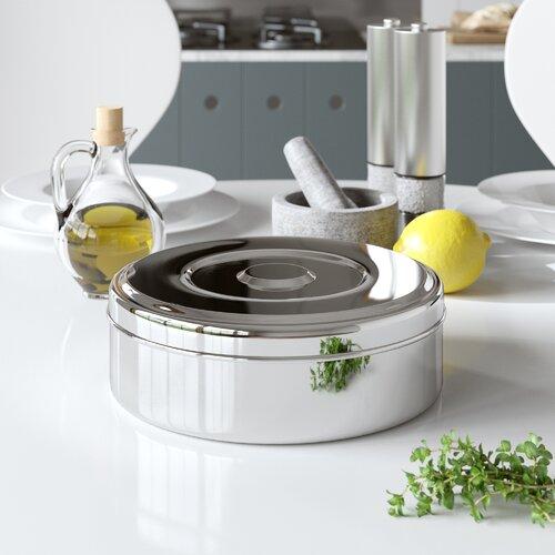 Freistehendes Gewürzregal für 7 Gewürzdosen Zinel Größe: 8 cm H x 24 cm B x 24 cm T | Küche und Esszimmer > Küchenregale > Gewürzregale | Zinel