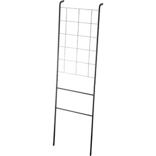 Tower Grid-Panel Leaning 45cm Wide Clothes Rack By Yamazaki