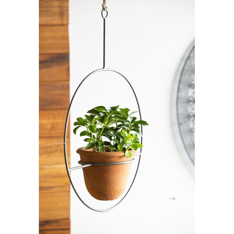 Hanging Metal Terra Cotta Pot Holder
