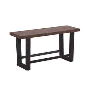 Brayden Studio Quillen Counter Height Wood Bench