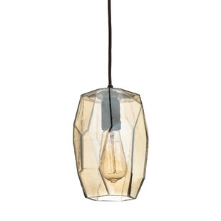 Ebern Designs Minden Geometrics 1-Light Novelty Pendant